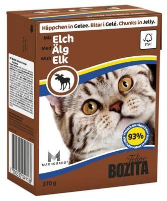 BOZITA Cat Briedis Drebučiuose 370g