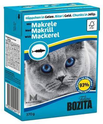 BOZITA Cat Skumbrė drebučiuose 370g