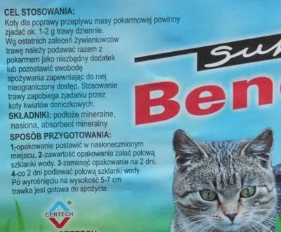 CERTECH Greitai auganti žolė katėms 150g plastmasinėje dėžutėje