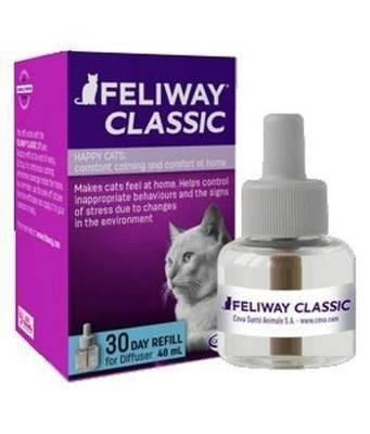 CEVA Feliway Difuzoriaus užpildas 30 dienų - 48ml