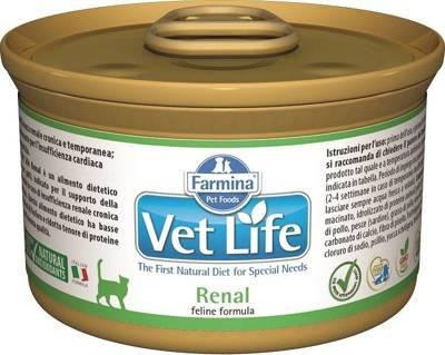 Farmina Vet Life Renal Cat 85g