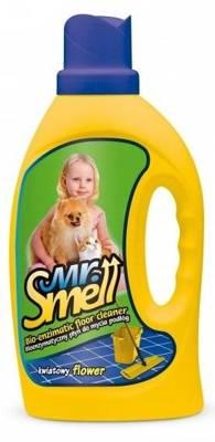 """""""MR SMELL Bioenzymatic"""" skystas gėlių kvapo grindų valiklis - 1l"""