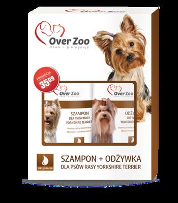 OVER ZOO Šampūnas + Kondicionierius Jorkšyro Terjerų veislės šunims