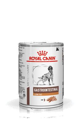 ROYAL CANIN Gastro Intestinal Low Fat LF22 410g skardinė