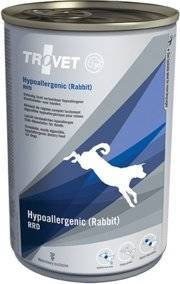 TROVET RRD Hypoallergenic - Rabbit (šuniui) 400g - skardinė
