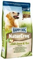 Happy Dog NaturCroq ėriena su ryžiais 15kg +  DOLINA NOTECI 400g