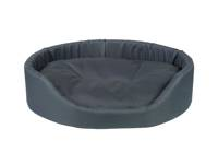 AMIPLAY - Ovali lova Basic tamsiai mėlyna - XS