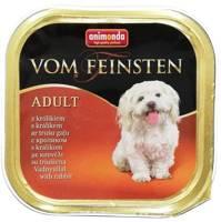 ANIMONDA Dog Vom Feinsten Adult skonis: triušis 150g