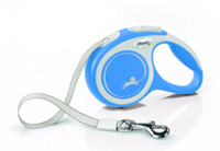 FLEXI New Comfort pavadėlis mėlynas L 5 m iki 60 kg - diržas