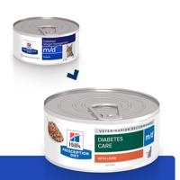 HILL'S PD Prescription Diet Feline w/d su Vištiena 156g