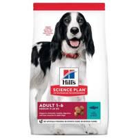 HILL'S SP Science Plan Canine Adult 1-6 Medium su tunu ir ryžiais 12kg