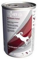 TROVET TPD Hypoallergenic - Turkey (šuniui) 400g - skardinė